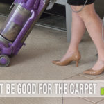Who in their right mind vacuums in heels? Apparently me. - SahmReviews.com #SoleStyle #PaylessInsider