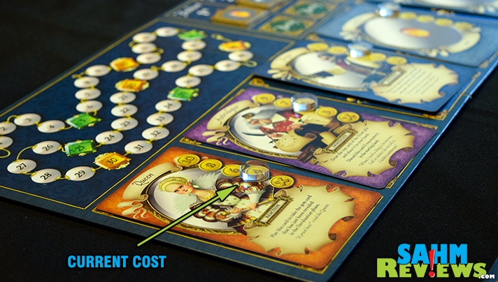 Cool Mini or Not is not just about miniatures games. Queen's Necklace is their latest entry into the world of hobby games and looks to be a jewel! - SahmReviews.com