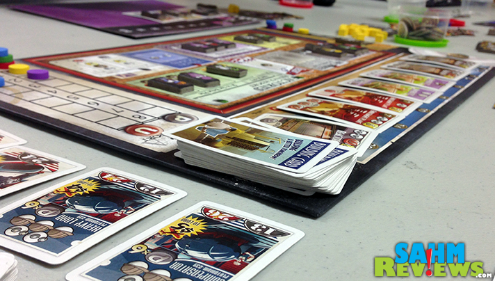 We learned a lot about The Manhattan Project by playing this title from Minion Games. Too bad this isn't used in the classroom - I would have gotten all A's! - SahmReviews.com