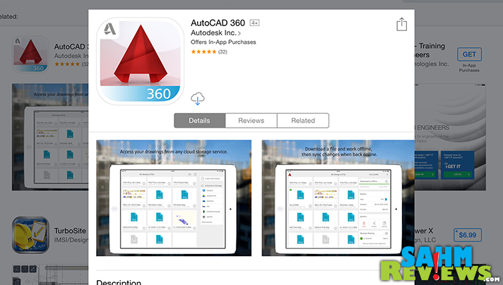 AutoCAD 360 is one of many apps that make construction and DIY projects more efficient. - SahmReviews.com #BetterMoments