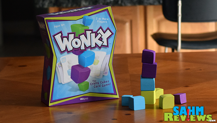 Things go a little Wonky in this new game from USAopoly. It has replaced Jenga and Break the Ice as our favorite dexterity game - come see why! - SahmReviews.com