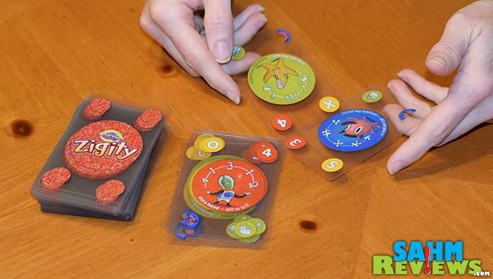 Plastic cards and a tin box are featured in this week's Thrift Treasure. Zigity by Cranium is unique in many ways, and packs a ton of value in a tiny box. - SahmReviews.com