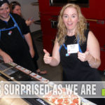 During Domino's Blogger Day, I learned to make a pizza! And it was GOOD! - SahmReviews.com #DPZBloggerDay15