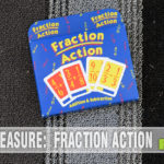 A variation on the game of War, Fraction Action by Game Geste, Inc. introduces fraction mathematics to this traditional title. Can you solve them? - SahmReviews.com