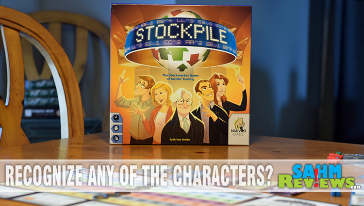 Stockpile Board Game Overview