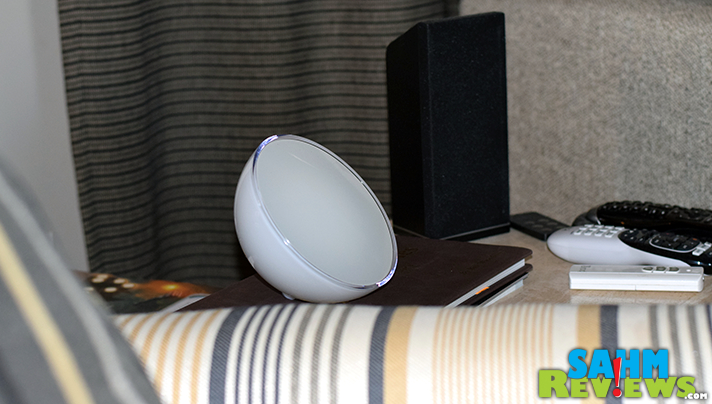 The portability of the Philips Hue Go makes it great for reading, additional lighting or just for changing the feel of a room. - SahmReviews.com #BBYConnectedHome