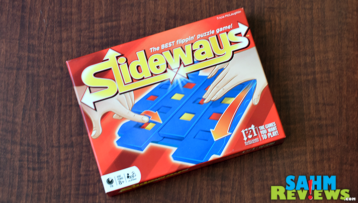 A variation on classic Tic-Tac-Toe, Slideways by R&R Games uses magnets to make this title that much more attractive! - SahmReviews.com