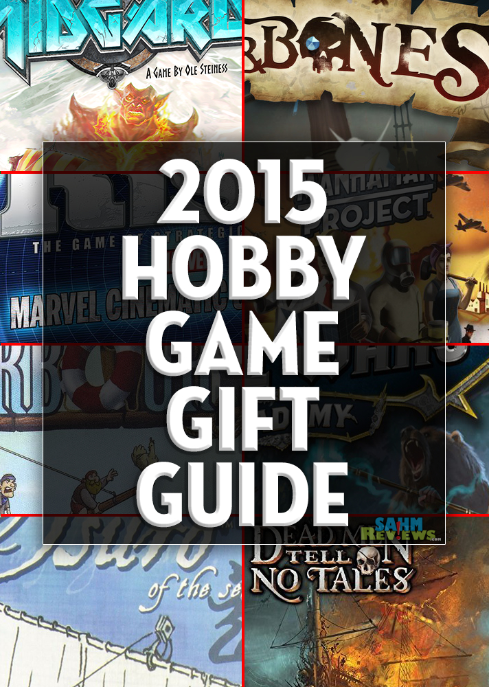 You can complete all your shopping this year just by perusing our various gift guides! This one is for the more serious board gamer in the family! - SahmReviews.com