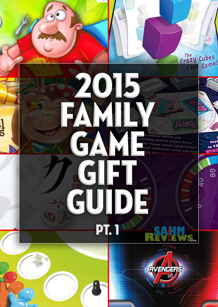 You can complete all your shopping this year just by perusing our various gift guides! This one begins our extensive list of family-friendly board games! - SahmReviews.com