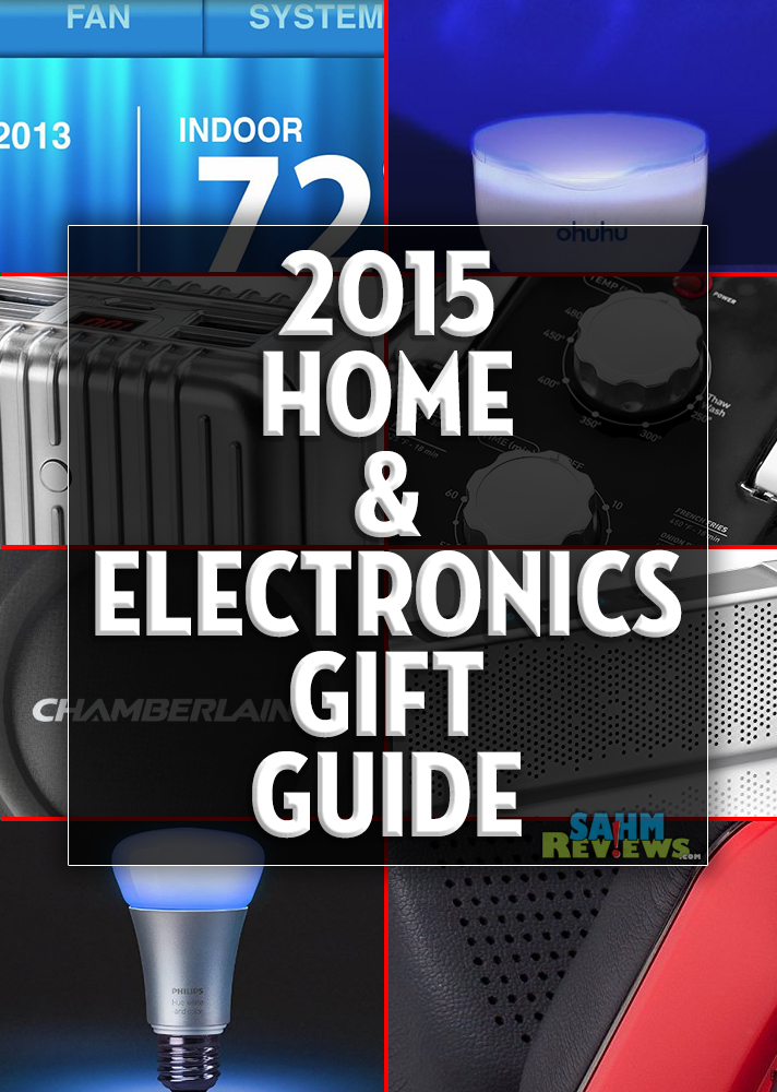 You can complete all your holiday shopping just by perusing our various gift guides! We have a bunch of great ideas for the home that you cant live without! - SahmReviews.com