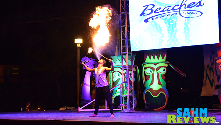 Shows don't cost extra at Beaches all-inclusive resort. - SahmReviews.com #BeachesMoms