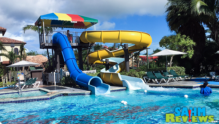 Float in the lazy river, ride a wave or fly down a water slide at Beaches all-inclusive resort. - SahmReviews.com #BeachesMoms