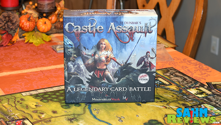 Forget buying packs of cards to upgrade your game. Castle Assault by Momentum Volsk has everything you need, including the ability to upgrade your heroes! - SahmReviews.com