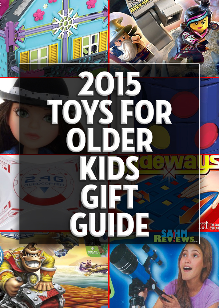 You can complete all your holiday shopping just by perusing our various gift guides! These gift ideas and toys for older kids should help you check a few things off your list! - SahmReviews.com