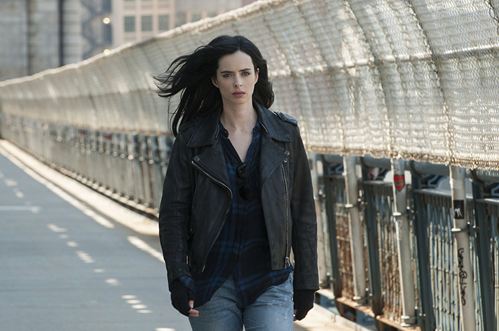 Krysten Ritter is cast as Jessica Jones in the latest Marvel Netflix Original. - SahmReviews.com #StreamTeam