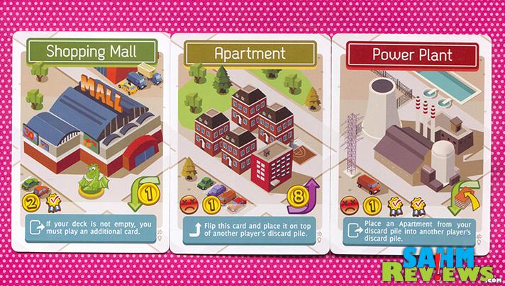 Each Flip City card includes a function. Some good, some not. - SahmReviews.com