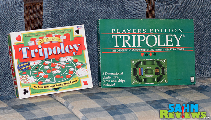 You can determine the popularity of a game by how many copies you see for sale at thrift. Judging by how often we see it, Tripoley must be a blockbuster! - SahmReviews.com