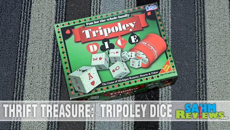 Thrift Treasure: Tripoley Dice