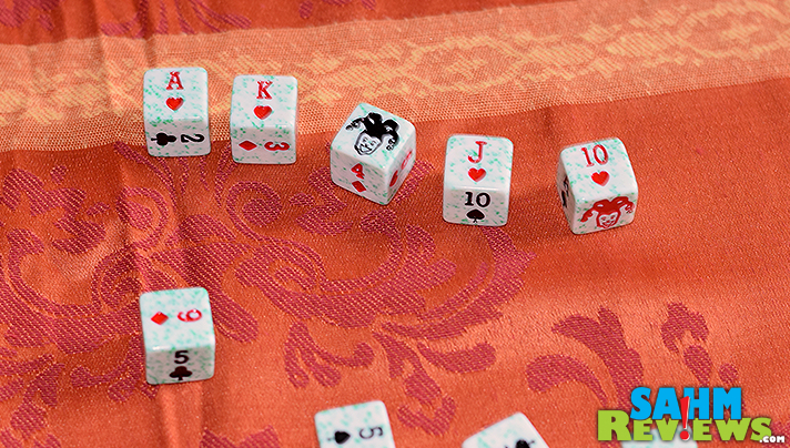 Companies often try to piggyback on the success of one game by making a variation in another form. Tripoley Dice is a good example of this transformation. - SahmReviews.com