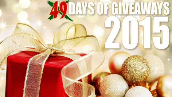 We're running 49 Days of Giveaways in conjunction with our 2015 Holiday Gift Guides. Check it out!
