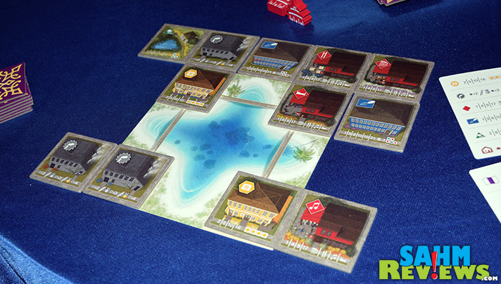Between Two Cities Capitals Expansion adds several new elements to the base game. - SahmReviews.com