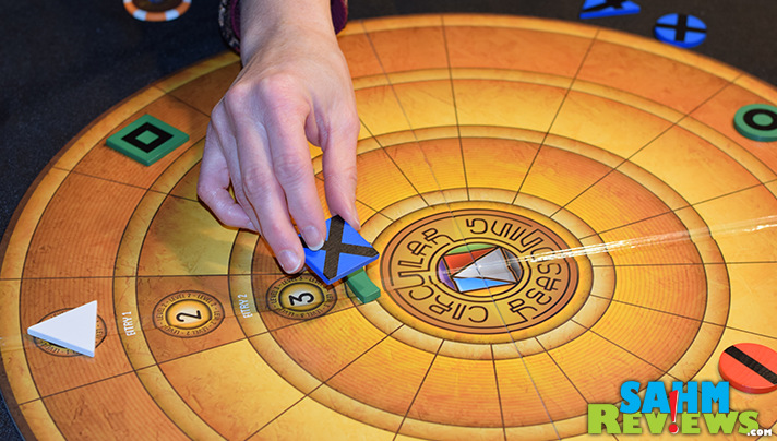 Usually known for their card games, Breaking Games' Circular Reasoning is a solid abstract title for up to 4 players. You'll have no reason not to want it! - SahmReviews.com