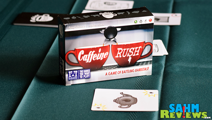 Caffeine Rush by R&R Games puts you in the role of a barista. Can you fill your orders fast enough? - SahmReviews.com