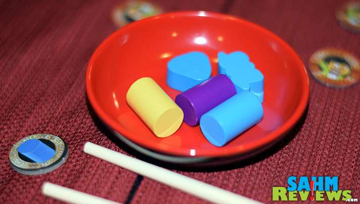 Find the color or shape that matches then grab it with your chopsticks! - SahmReviews.com