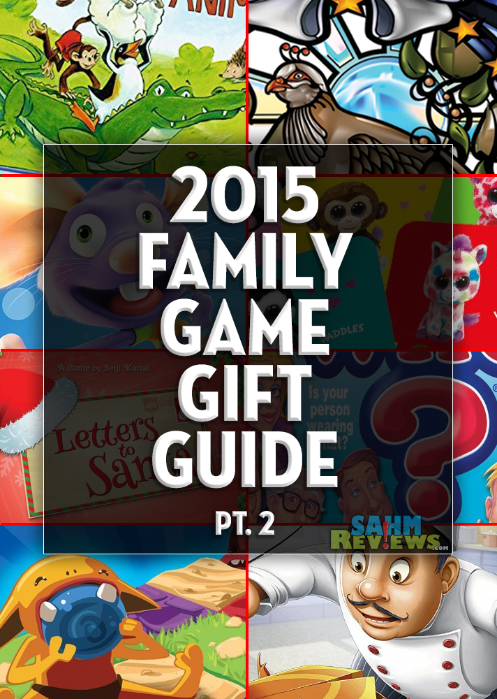 You can complete all your shopping this year just by perusing our various gift guides! This one continues our extensive list of family-friendly board games! - SahmReviews.com