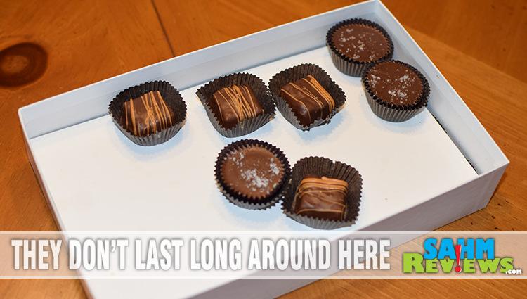 We Made Some Chocolate for Christmas