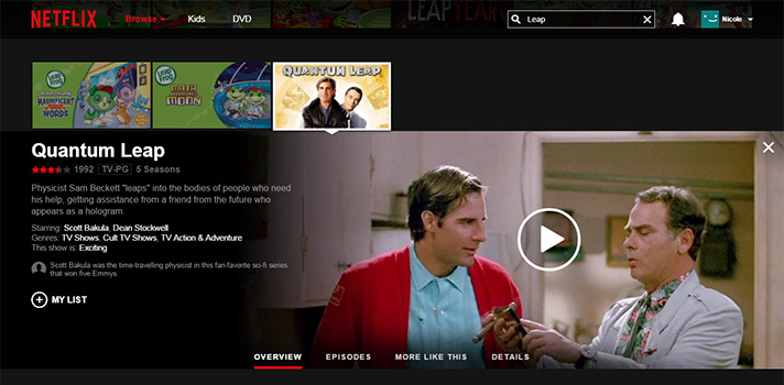 You'll want to jump at this one on Netflix: Quantum Leap! - SahmReviews.com #StreamTeam