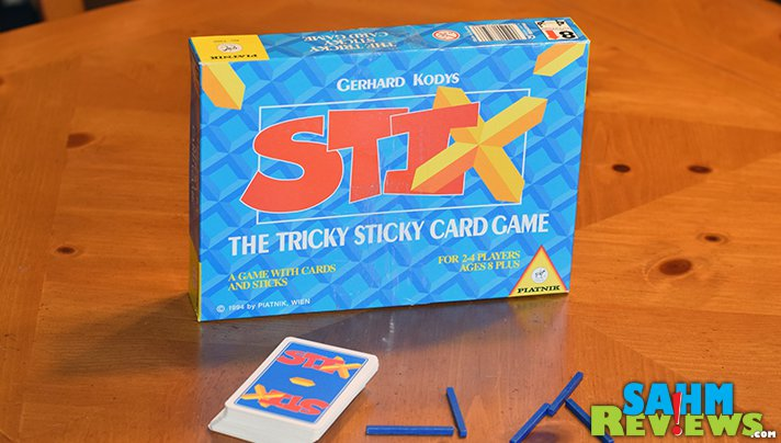 To find Stix by Piatnik, we ended up travelling all the way to Chicago! Hopefully you won't have to go that far to find a copy for yourself! - SahmReviews.com