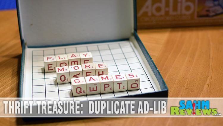Thrift Treasure: Duplicate Ad-Lib