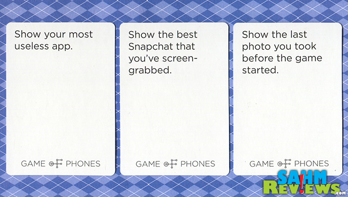 Get your smart phone involved with Game of Phones from Breaking Games. You'll find out who has been taking those embarrassing selfies at the same time! - SahmReviews.com