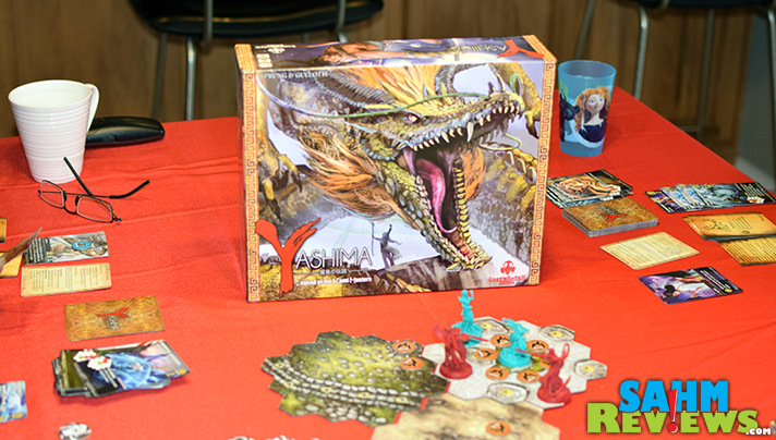 For under $30, you'll be hard-pressed to find a more complex strategy game than Yashima by Greenbrier Games. Plus you get to control a dragon! - SahmReviews.com