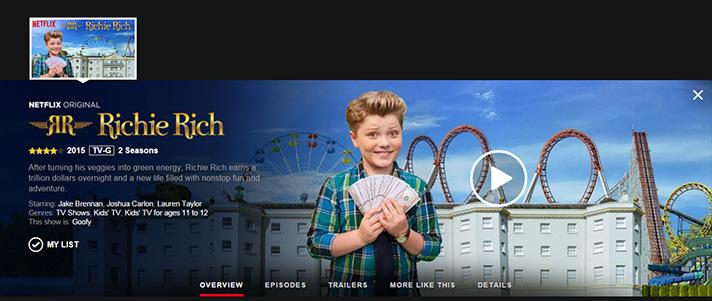 Netflix - Richie Rich