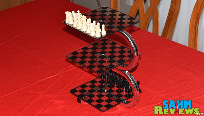 We couldn't have been more excited to find a copy of 3D Chess at our local Goodwill. We've wanted one for a long time and can finally show you how to play! - SahmReviews.com