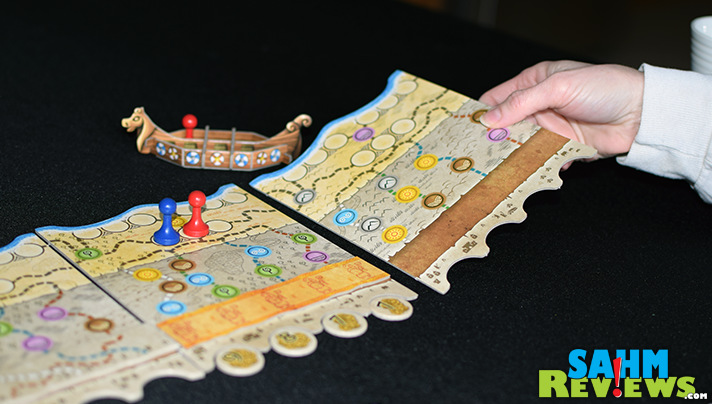 Who doesn't love a game that also teaches you a little bit of obscure history? Hengist by Mayfair Games features the famous mercenary that betrayed Britain. - SahmReviews.com