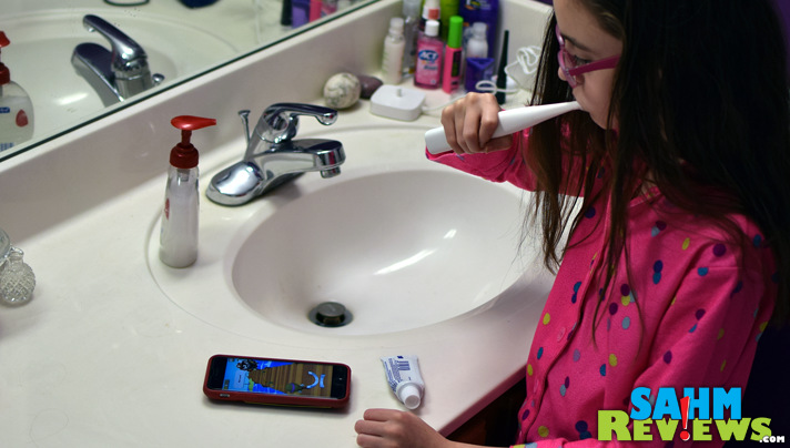 Brushing teeth can be a game with the Kolibree toothbrush and app! - SahmReviews.com