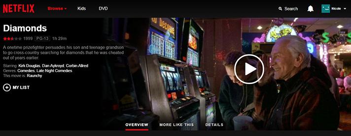 These Valentine's Day Diamonds include Kirk Douglas, Dan Aykroyd and Netflix! - SahmReviews.com #StreamTeam