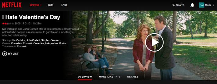 I Hate Valentine's Day with John Corbett thanks to Netflix. - SahmReviews.com #StreamTeam