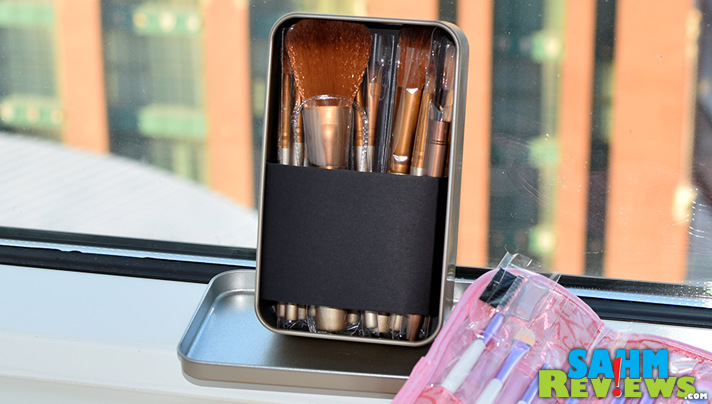 Cute makeup brush sets are available for great prices on the PatPat app. - SahmReviews.com
