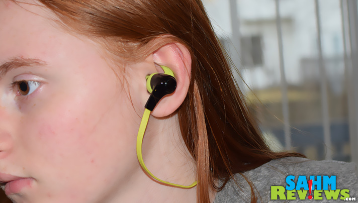 These in-ear wireless sport headphones are comfortable for exercise or daily digital use. - SahmReviews.com