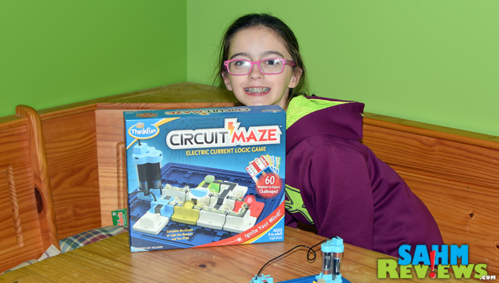 We take Circuit Maze by ThinkFun for a spin and find out it just may be the perfect 'game' for the budding electrical engineer in the family! - SahmReviews.com