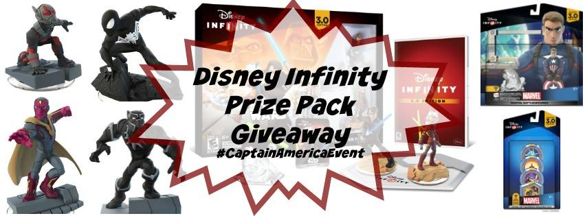 In conjunction with the #CaptainAmericaEvent, we're giving away a Disney Infinity Prize Pack! Enter to win! - SahmReviews.com #TeamIronMan
