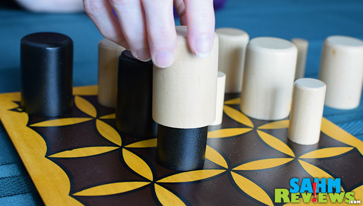 Another fun game we found at our local thrift store, and yes, it's another abstract! Check out Gobblet by Blue Orange Games! - SahmReviews.com