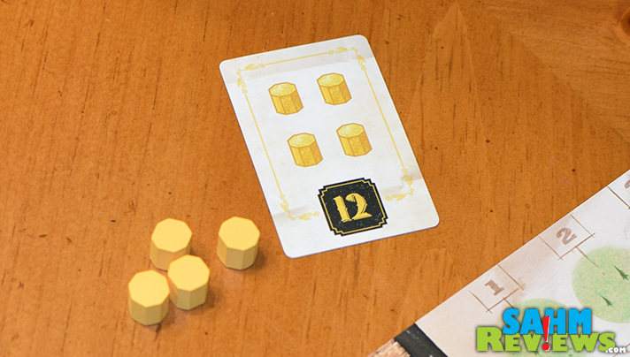 Ever wanted to try a board game other than Monopoly? Gold West by Tasty Minstrel Games is a perfect hobby game for first-timers! - SahmReviews.com