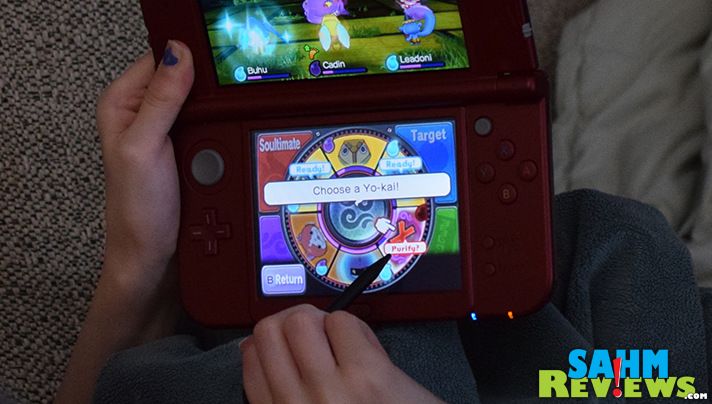 Travel on missions, find Yo-kai and choose which ones to join your adventures. - SahmReviews.com #YOKAIWATCH