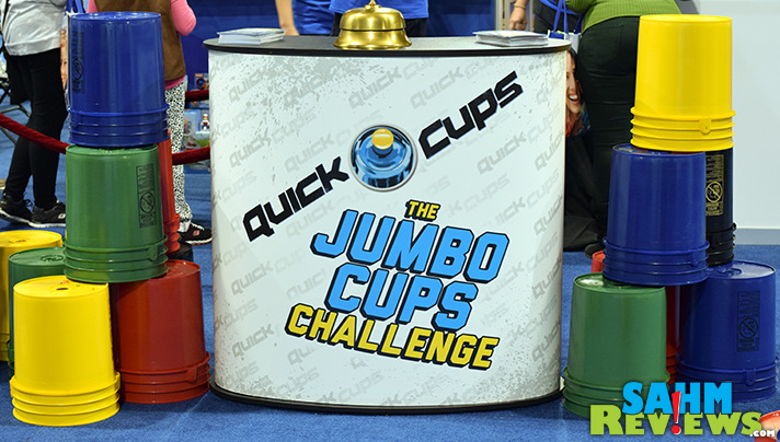 You'll have to move fast to win against your kids with Spin Master Games' latest title - Quick Cups! At least you won't have dishes to do afterwards! - SahmReviews.com