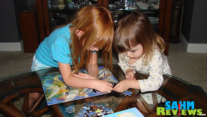 Puzzles are a fantastic way to play! - SahmReviews.com #PlayWithPurpose